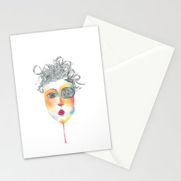 precious madness Stationery Cards