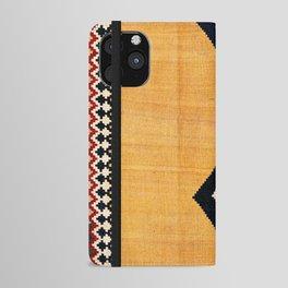 Qashqa'i Fars Southwest Persian Kilim Print iPhone Wallet Case