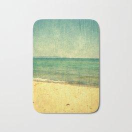 Seascape Vertical Abstract Bath Mat