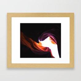 Colour Contours Framed Art Print