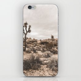 Joshua Tree National Park Landscape iPhone Skin