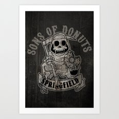 Sons Of Donuts / Full version Art Print
