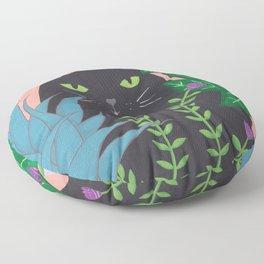 Jungle Cat Floor Pillow