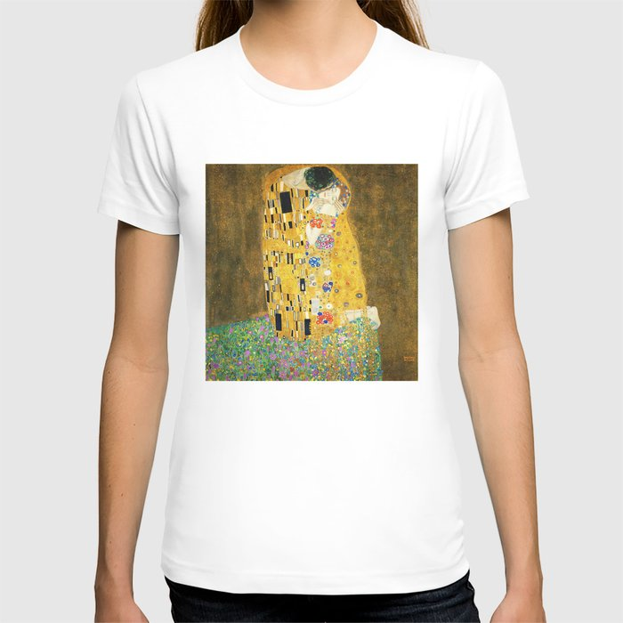 Gustav Klimt The Kiss T-shirt