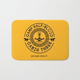 Percy Jackson - Camp Half-Blood - Cabin Three - Poseidon Bath Mat
