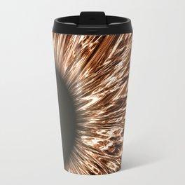 The Brown Iris Travel Mug