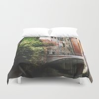 venice Duvet Covers featuring Venice by Anya Kubilus