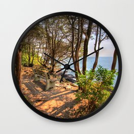 Marginal Way #3 Wall Clock