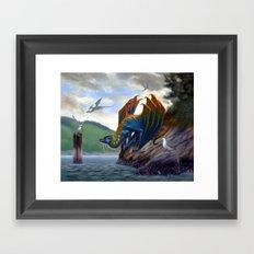 Vancouver Island Sea Dragon Framed Art Print