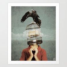 metaphorical assistance Art Print
