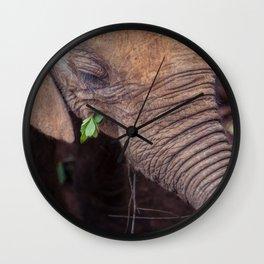 Solemn Moments Wall Clock