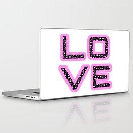 Love's simply Stylish [White Background Variant] Laptop & iPad Skin