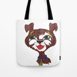 Happy Puppy Tote Bag
