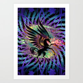 Pegasus Lyght Art Print