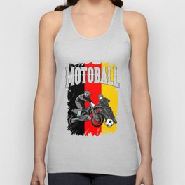 Motoball Germany Dirt Bike Gifts For Bikers Unisex Tank Top