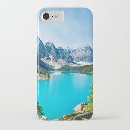 Lake Moraine, Alberta, Canada iPhone Case