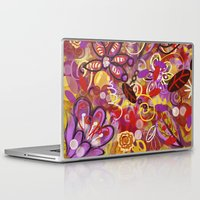 renaissance Laptop & iPad Skins featuring Renaissance Fair by Teri Newberry