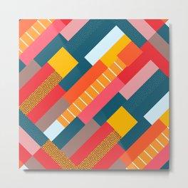 Colorful blocks Metal Print