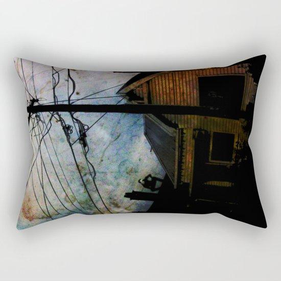 Home Invasion Rectangular Pillow