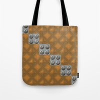 techno Tote Bags featuring Techno by Karl-Heinz Lüpke