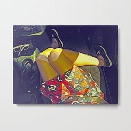 Passenger Seat Metal Print