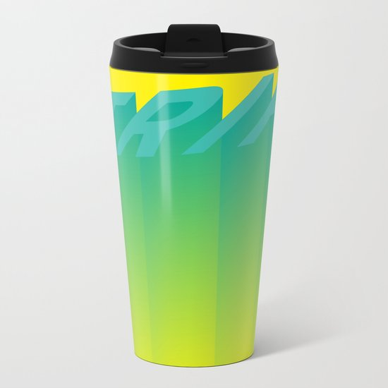 Trip Out Metal Travel Mug