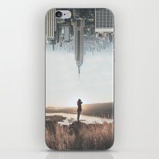 Between Earth & City iPhone Skin