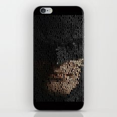 You Are Who You Beat. iPhone & iPod Skin