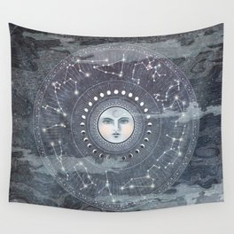 The Principle of Rhythm Wall Tapestry