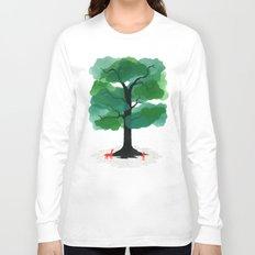 Man & Nature - The Tree of Life Long Sleeve T-shirt