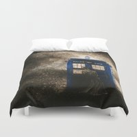 dr who Duvet Covers featuring Dr. Who by Redeemed Ink by - Kagan Masters
