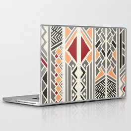 Tribal ethnic geometric pattern 034 Laptop & iPad Skin
