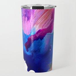 Danbury Abstract Watercolor Painting Travel Mug