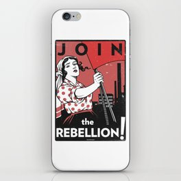Join The Rebellion! iPhone Skin