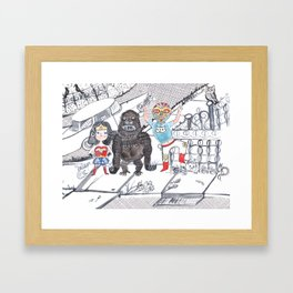 Candy Bandits Framed Art Print