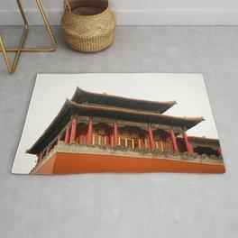 Forbidden City Building Rug