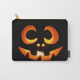 Vector Image of Friendly Halloween Pumpkin Carry-All Pouch