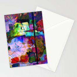 Oil Spill Stationery Cards