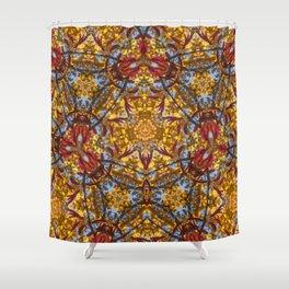 Autumn Franklinia Shower Curtain