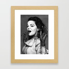 BJORK - VULNICURA Framed Art Print