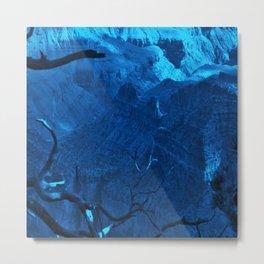 Blue Grand Canyon Metal Print