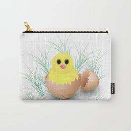 Chicken, chick, peeper, yellow chicken, egg shell, egg, shell, Easter, Easter chicken Carry-All Pouch