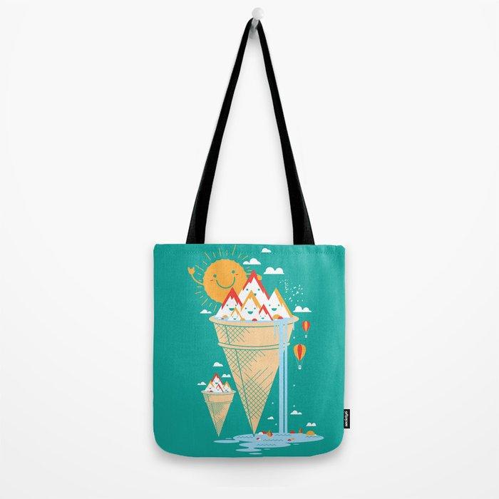mystery island Tote Bag