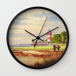 Harbor Town Golf Course SC Wall Clock