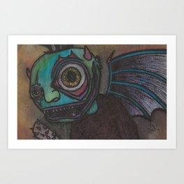 Demonic World Art Print