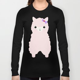 Alpaca in Love V 2 Long Sleeve T-shirt