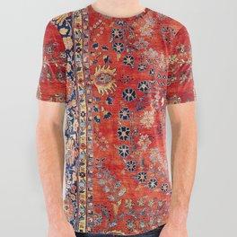 Sarouk Arak West Persian Carpet Print All Over Graphic Tee