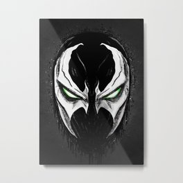 Devil's Face Metal Print