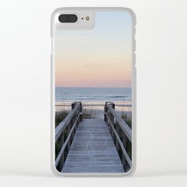 Take Me to the Beach Clear iPhone Case