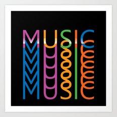 Music #2 Art Print